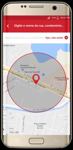 Quanto mais informações inseridas no mapa, melhor o serviço de localização irá atendê-lo.