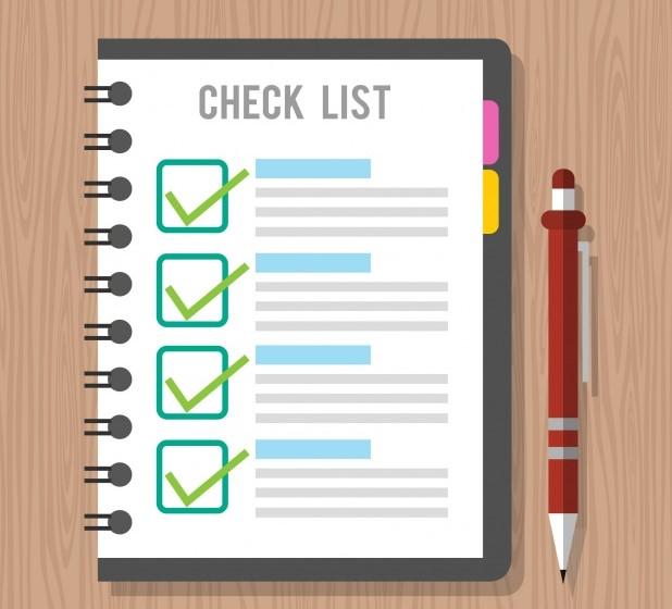 Checklist da captação de imóveis